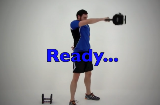 Kettlebell one arm swing