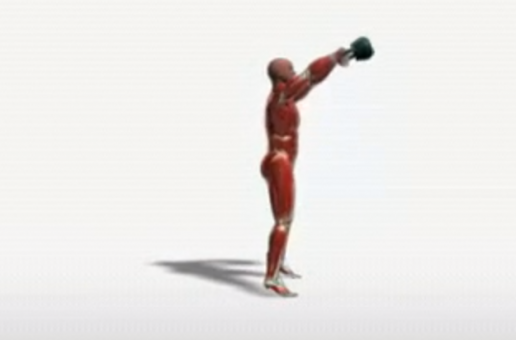 Kettlebell full swings